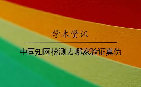 中国知网检测去哪家验证真伪